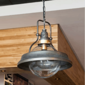metal farmhouse pendant