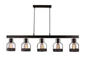 industrial light chandelier