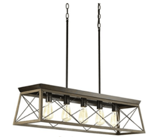 box farmhouse light fixture