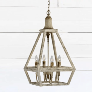 white farmhouse pendant