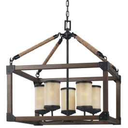 box wood light fixture