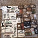 The EASIEST Rustic DIY Wood Magnets Made From A Ruler.