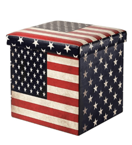 Farmhouse Ottoman Flag Ottoman