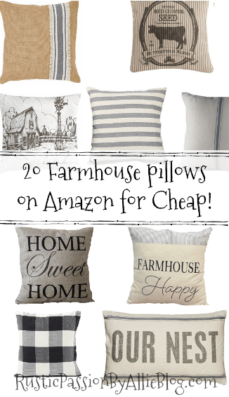 farmhouse pillows for cheap farmhouse throw pillows