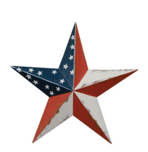 patriotic star home decor