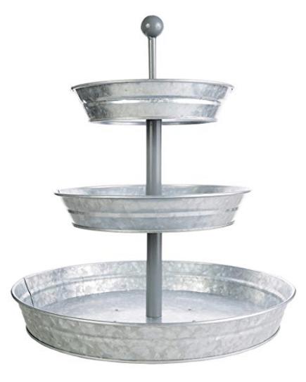 galvanized metal tray, farmhouse tray, farmhouse home decor