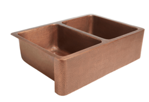 Copper Sink, Farmhouse Sink, Copper Double Sided Sink