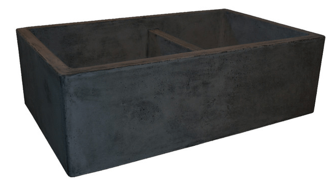 Double farmhouse sink, slate sink, slate farmhouse sink, farmhouse kitchen