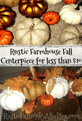 fall centerpiece pumpkin center piece fall home decor