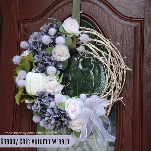 shabby chick white wreath autumn wreath white wreath diy wreath