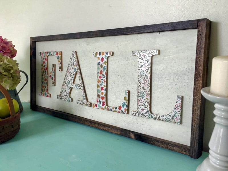 diy fall wood sign fall art diy wood sign