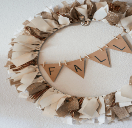 diy ribbon wreath diy fall wreath diy wreath fall decor