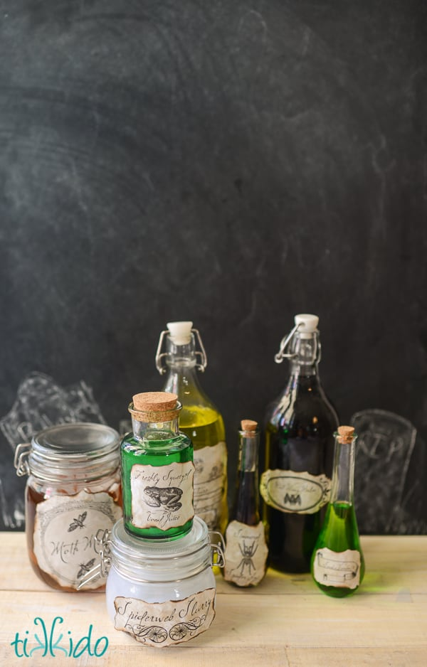 diy halloween potion bottle diy halloween decor