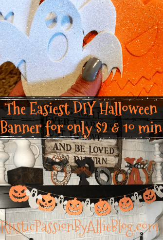 halloween banner diy halloween decor