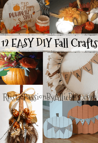 diy fall crafts easy fall decor fall home decor
