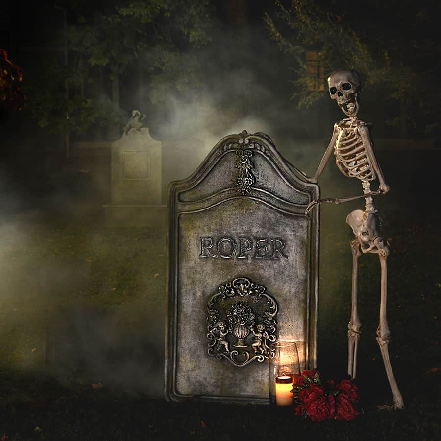 diy tombstone diy halloween decor