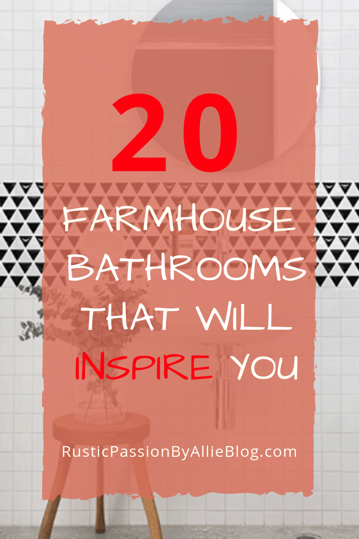 Farmhouse Bathrooms - Modern Farmhouse Bathroom - Fixer Upper Style Bathroom - Neutral Bathroom