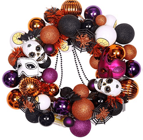 Halloween wreath Halloween home decor diy halloween wreath diy halloween decor