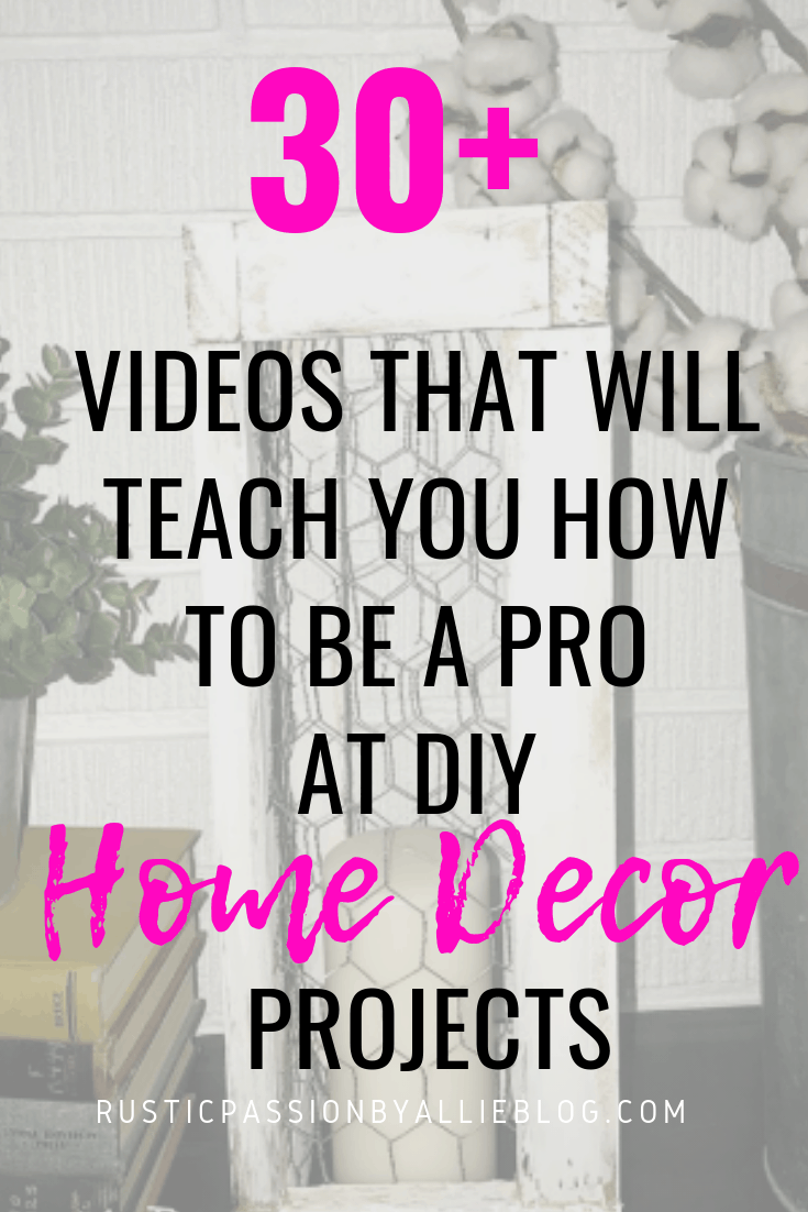 DIY Farhouse Decor - DIY Craft and Home Decor Videos - DIY Decor Tutorials - Home Decor - Easy Decor