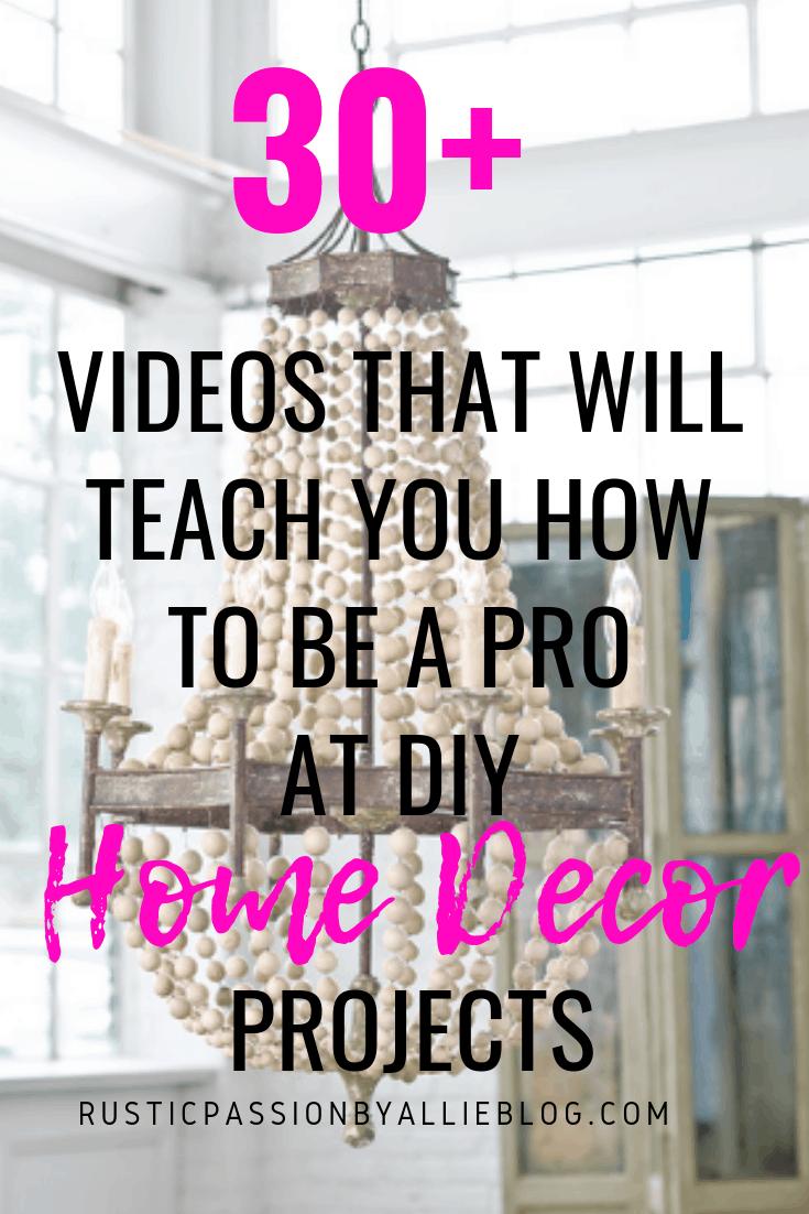 DIY Farhouse Decor - DIY Craft and Home Decor Videos - DIY Decor Tutorials - Home Decor - Easy Decor - Craft Tutorials - Craft Videos - Craft do it yourself Videos - Home Decor DIY Tutorials