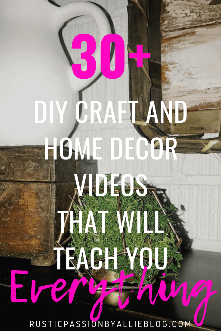 DIY Farhouse Decor - DIY Craft and Home Decor Videos - DIY Decor Tutorials - Home Decor - Easy Decor