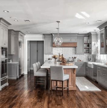 farmhouse kitchen, white kitchen, modern farmhouse kitchen, neutral home decor, dream kitchen, dream home, white interior, rustic home decor, rustic kitchen, beautiful kitchen, hgtv kitchen