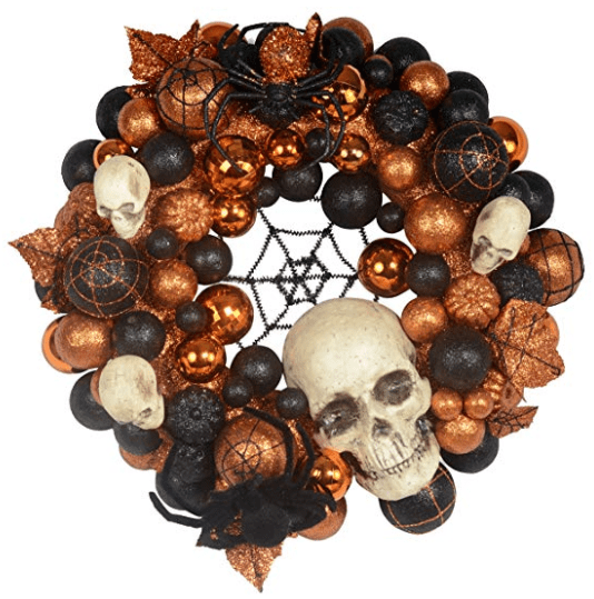 halloween wreath black and orange wreath diy halloween wreath diy halloween home decor