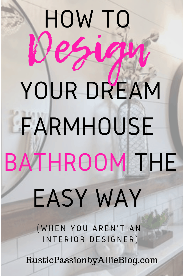 Farmhouse Home Decor - Farmhouse Bathroom - Modern Farmhouse - Shiplap - Farmhouse Sink