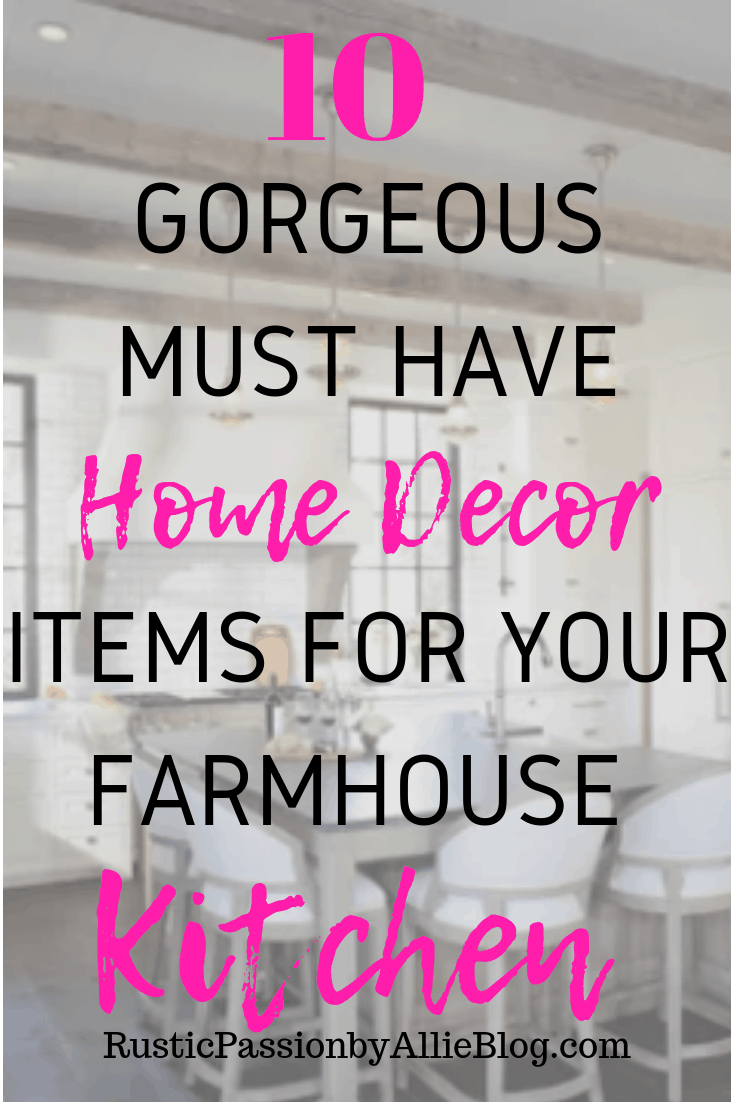 Affordable Farmhouse Home Decor - Cheap Farmhouse Home Decor - Home Decor - White Home Decor - Kitchen Home Decor - Neutral Home Decor - Galvanized Home Decor - Farmhouse Kitchen Home Decor - White Kitchen Decor