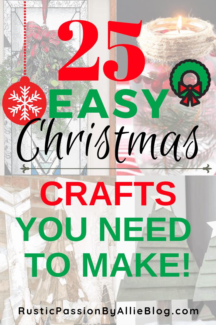 DIY Christmas Decor - DIY Christmas Crafts - Christmas Crafts for Kids - Easy Christmas Crafts - DIY Christmas Decorations - Christmas Projects - Christmas Kid Activities