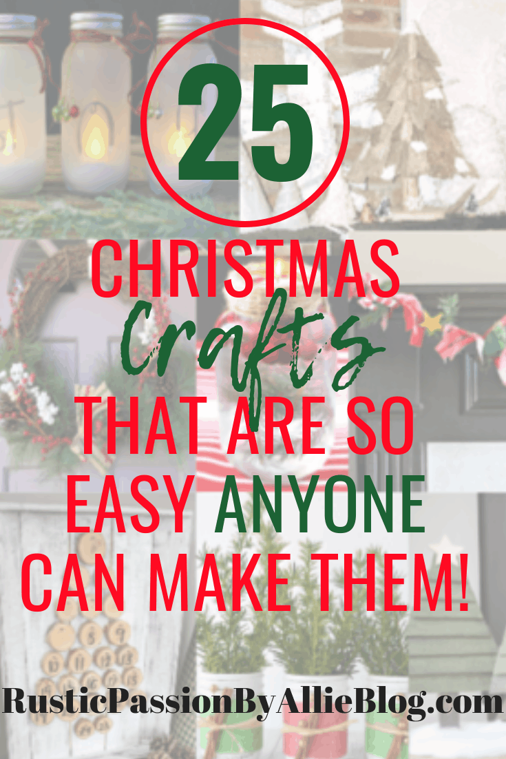Christmas Crafts To Make And Sell.25 Easy And Affordable Christmas Crafts That You Need To