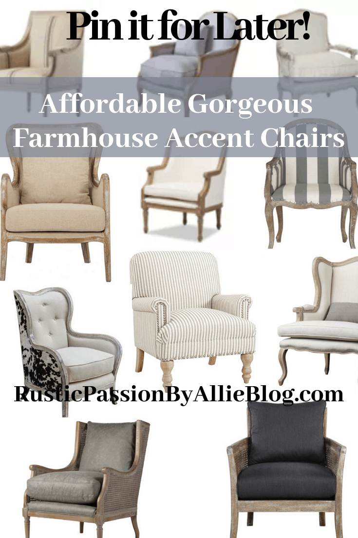 Awesome Find The Best Affordable Farmhouse Armchairs And Accent Chairs Bralicious Painted Fabric Chair Ideas Braliciousco