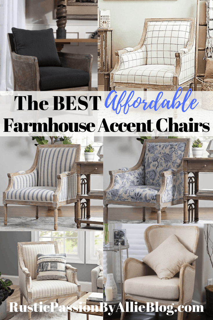 Amazing Find The Best Affordable Farmhouse Armchairs And Accent Chairs Bralicious Painted Fabric Chair Ideas Braliciousco