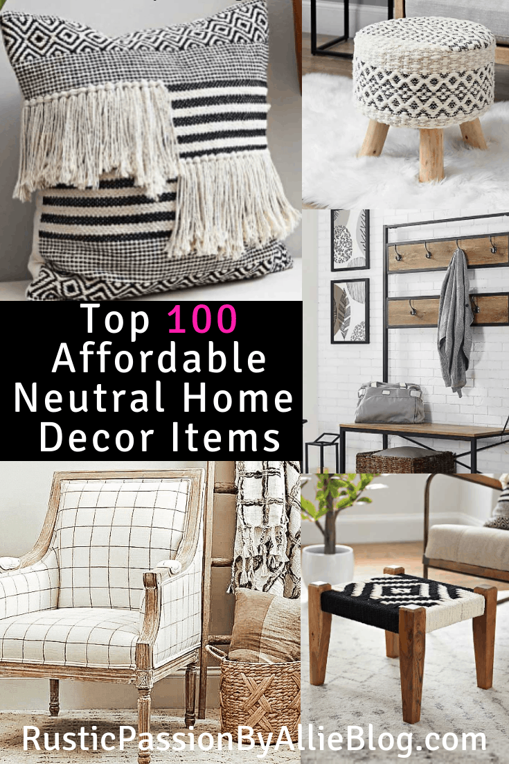 You Can See Below Some Of My Favorite Items. I Am So Passionate About  Affordable Farmhouse Home Decor. I Have Put A Lot Of Time Into This List.