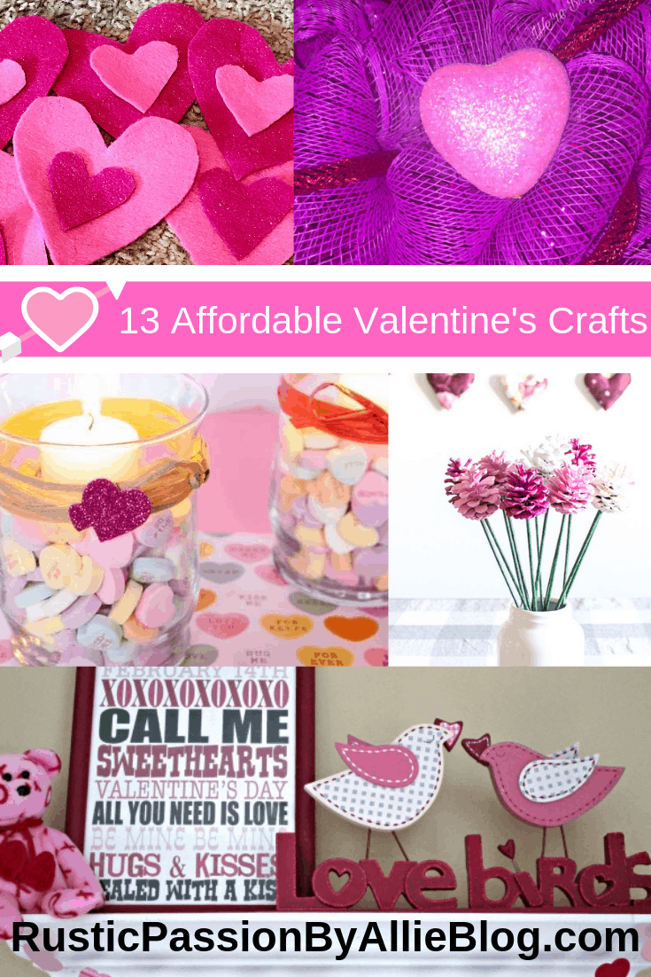 These are the best DIY Valentine's Decoration ideas and kids crafts that are affordable and easy.