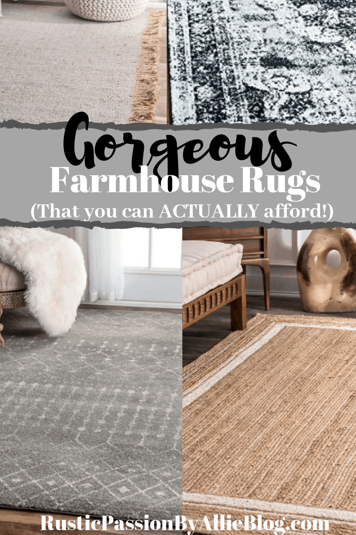 Affordable Neutral Farmhouse Rugs That You Will Love