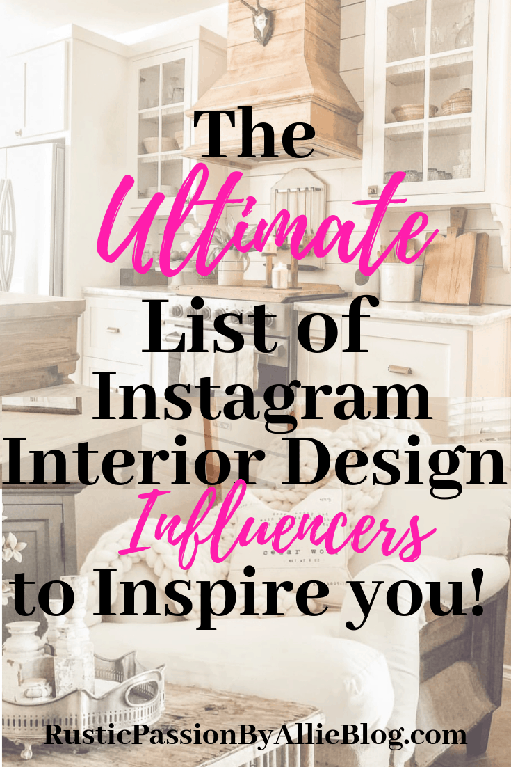 40 Of The Best Instagram Interior Design Influencers And Home Decor Blogs That Will Bring You Mive Inspiration