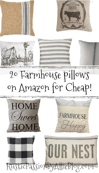 farmhouse throw pillows, farmhouse pillows, cheap farmhouse pillows