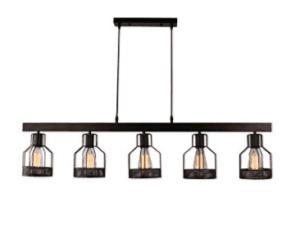 industrial light chandelier
