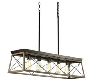 box farmhouse light fixture