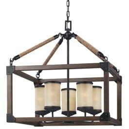 box wood light fixture