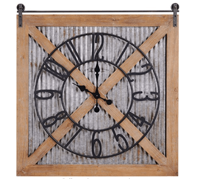 large clock wall decor