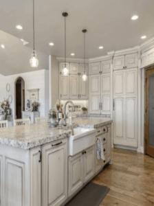 farmhouse kitchen, farmhouse sink, white kitchen, neutral kitchen, white farmhouse kitchen