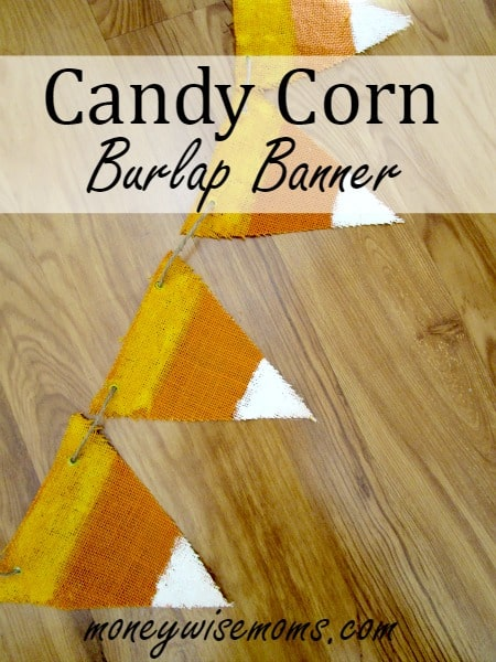 diy halloween banner diy candycorn decor