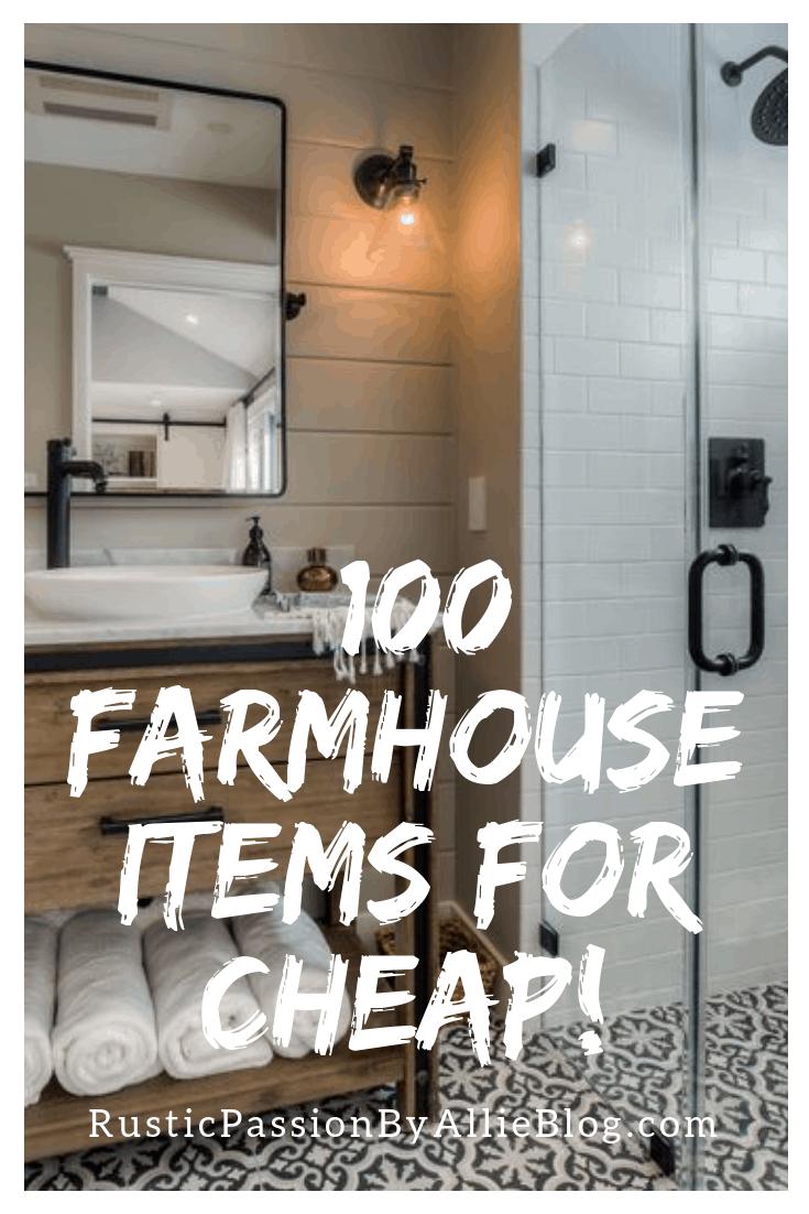 Affordable Farmhouse Home Decor - Cheap Farmhouse Home Decor - Home Decor - White Home Decor - Kitchen Home Decor - Bedroom Decor