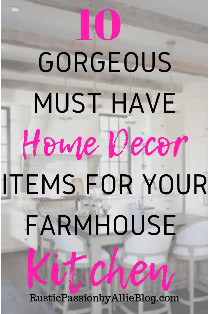 Affordable Farmhouse Home Decor - Cheap Farmhouse Home Decor - Home Decor - White Home Decor - Kitchen Home Decor - Neutral Home Decor - Galvanized Home Decor - Farmhouse Kitchen Home Decor - White Kitchen Decor