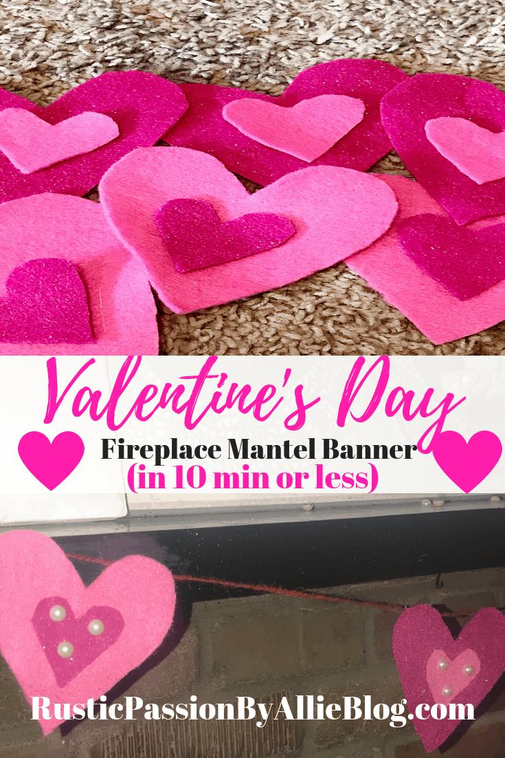 DIY Valentine's Day Home Decor Crafts Affordable Valentine's Crafts