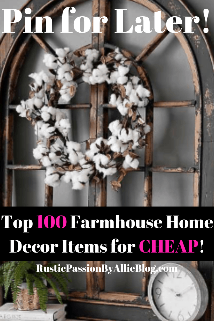 The best affordable Farmhouse Home Decor that will create your dream home. You will get inspired by this collection of gorgeous Joanna Gaines look a like home decor and farmhouse furniture.