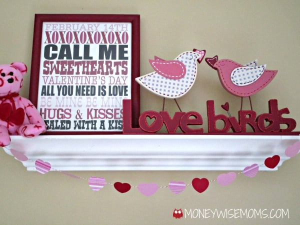 Valentine Garland Rustic Passion By Allie Blog