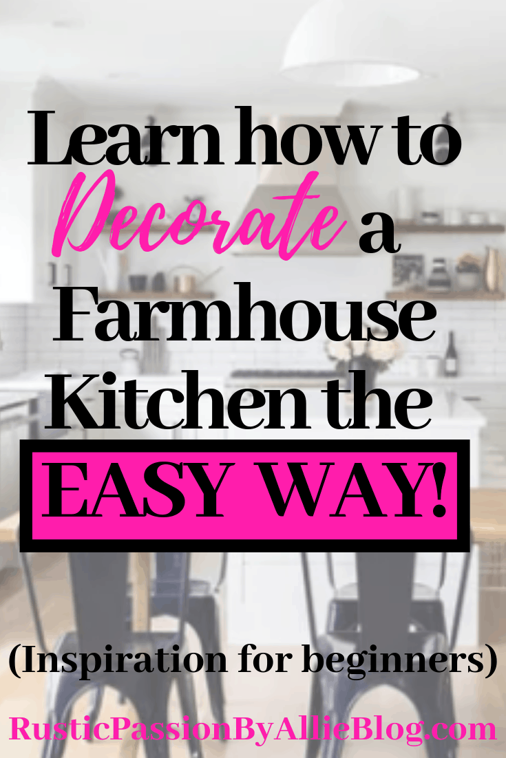 Do you want to decorate like a designer. This inspiration will teach you how to decorate like a professional when you aren't one. These neutral Modern Farmhouse kitchens are dreamy. #modernfarmhousekitchen #neutralkitchen #dreamkitchen